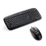 Genius SlimStar C110 / Klávesnice+myš / PS2 / CZ / Černá (31330192130)
