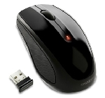 GIGABYTE Myš Mouse GM-M7580, Wireless, Optical, USB mini receiver, 1000/500 dpi (GM-M7580-BLACK)