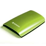 VERBATIM STORE´N´GO / 500 GB / 5400ot. / 2.5 / 8 MB Cache / USB 2.0 / Eukalyptově zelený (53009)