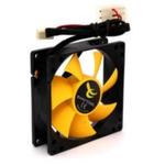 EXACTGAME ExactCool 80 / Větráček / 80 x 80 x 25 mm / žlutý (ID036676)