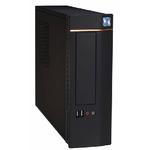 EUROCASE MicroTower WT-02 TFX, MINI ITX, bez zdroje, černý (WT-02)
