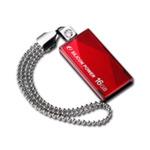 SILICON POWER TOUCH 810 / 16GB / USB 2.0 / Vodě+Vibracím+Prachu odolný / Kovový / Swarovski krystal / Červený (SP016GBUF2810V1R)