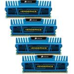 Corsair Vengeance Blue 16GB DDR3 1600MHz / 4x4GB KIT / CL9 / 1.5V (CMZ16GX3M4A1600C9B)
