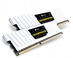 Corsair Vengeance White 8GB DDR3 1600MHz / 2x4GB KIT / CL9 / 1.35V / low profile (CML8GX3M2A1600C9W)