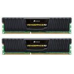 Corsair Vengeance Black 8GB DDR3 1600MHz / 2x4GB KIT / CL9 / 1.5V / XMP / low profile (CML8GX3M2A1600C9)