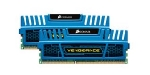Corsair Vengeance Blue 8GB DDR3 1600MHz / 2x4GB KIT / CL9 / 1.5V / XMP (CMZ8GX3M2A1600C9B)