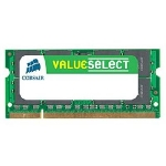 Corsair VALUE SELECT / 4GB / KIT 1x4GB / SO-DIMM / DDR3 / 1066MHz / CL7 / 1,5V / pro Notebooky (CM3X4GSD1066)