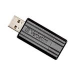 Verbatim 64GB/ Flash Disk / Store 'n' Go PinStripe / USB 2.0 / Černá (49065)