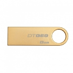 Kingston DataTraveler GE9 8GB / Flash Disk / USB 2.0 / zlatý (DTGE9/8GB)