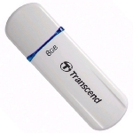 Transcend JetFlash 620 8GB / Flash Disk / USB 2.0 / bílý (TS8GJF620)