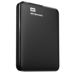 Western Digital Elements Portable 1TB, WDBUZG0010BBK-EESN