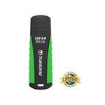 Transcend JetFlash 810 64GB / USB 3.0 / Černo-zelená (TS64GJF810)