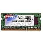 Patriot 4GB SO-DIMM DDR3 1333MHz / 1x4GB / pro ultrabook (PSD34G1333L81S)