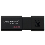 Kingston DataTraveler 100 G3 32GB / Flash Disk / USB 3.0 / Černý (DT100G3/32GB)