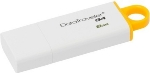 Kingston DataTraveler I G4 8GB / Flash Disk / USB 3.0 / Žlutá (DTIG4/8GB)