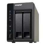 QNAP TS-269L / Intel Atom Dual-Core 1.86GHz / 1GB RAM / 2x SATA II / GLAN / USB 2.0 / USB 3.0 / eSATA (TS-269L)