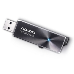 ADATA Elite UE700 128GB / Flash Disk / USB 3.0 / hliník / šedá (AUE700-128G-CBK)