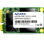 ADATA Premier Pro SP310 32GB / mSATA SATA III AHCI / MLC / RW: 365/50 MBps / IOPS: 40K/15K / MTBF 1.2mh / 3y (ASP310S3-32GM-C)
