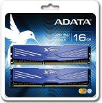 ADATA XPG V1.0 Blue 16GB DDR3 1600MHz / KIT 2x 8GB / CL11 / DIMM / RETAIL (AX3U1600W8G11-DD)