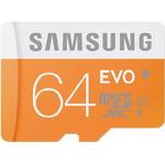 Samsung micro SDXC 64GB EVO / UHS-1 / Class 10 / U1 / Čtení: 48MBps / Zápis: 48MBps (MB-MP64D/EU)