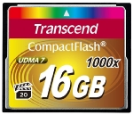 Transcend Compact Flash 16GB Ultimate / CF / 16GB / 1000x (TS16GCF1000)