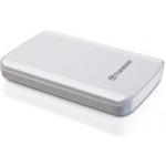 Transcend StoreJet 25D3 1TB externí HDD / 5400ot. / 2.5 / USB 3.0 / nárazuvzdorný / bílá (TS1TSJ25D3W)