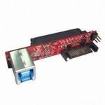 Kouwell UB-128-3 / SATA III Drive to USB3.0 / Mini vertikální most pro 2.5 a 3.5 jednotky (UB-128-3)