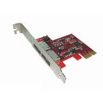 Kouwell PE-114 / PCI-E Karta 2x SATA III externí port / Low profile (PE-114)