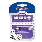Verbatim Store'n'Go MICRO+ USB Flash / 8 GB / USB 2.0 / fialová (97760)