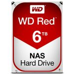 WD Red 6TB / HDD / 3.5 SATA III / 5 400 rpm / 64MB cache / 3y (WD60EFRX)