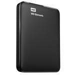 WD Elements Portable 750GB + POUZDRO / HDD / 2.5 / NTFS / USB 3.0 / Černá / 2y (WDBUZG7500ABK-EESN)