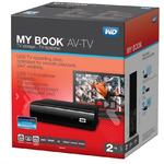WD My Book AV-TV 2TB / HDD / 3.5 / NTFS / USB 3.0 / Černá / 2y / výprodej (WDBGLG0020HBK-EESN)