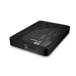 WD My Passport AV-TV 1TB / HDD / 2.5 / NTFS / USB 3.0 / Černá / 2y / výprodej (WDBHDK0010BBK-EESN)