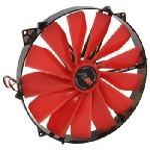 AIREN FAN RedWingsGiant 250 ventilátor / 250 x 250 x 30mm / DMI 3 pin / červená (AIREN - FRWG250)