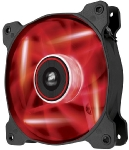 Corsair AF120 LED Red Quiet Edition / 120 mm / Hydraulic Bearing / 25.2 dB @ 1500 RPM / 88.7 m3h / 3-pin (CO-9050015-RLED)