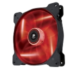 Corsair AF140 LED Red Quiet Edition / 140 mm / Hydraulic Bearing / 25.5 dB @ 1200 RPM / 112.8 m3h / 3-pin (CO-9050017-RLED)
