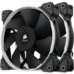 Corsair SP120 Performance Edition Twin Pack / 2x 120 mm / Hydraulic Bearing / 35 dB @ 2350 RPM / 106.6 m3h / 3-pin (CO-9050008-WW)