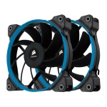 Corsair SP120 Quiet Edition PWM Twin Pack / 2x 120 mm / Hydraulic Bearing / 23 dB @ 1450 RPM / 64.3 m3h / 4-pin (CO-9050012-WW)