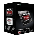 AMD A4-7300 @ 3.8GHz / Turbo 4.0GHz / 2C2T / 96kB L1, 1MB L2 / Radeon HD 8470D / FM2 / Piledriver-Richland / 65W (AD7300OKHLBOX)