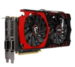 MSI GTX 970 GAMING 4G / 1051-1279MHz / 4GB 7010MHz / 256-bit / 2x DVI + HDMI + DP / 145W (6+8) (GTX 970 GAMING 4G)