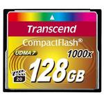 Transcend Compact Flash 128GB Ultimate / CF / 128GB / 1000x (TS128GCF1000)