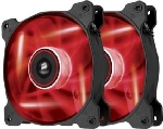 Corsair SP120 LED Red Twin Pack / 2x 120 mm / Hydraulic Bearing / 26 dB @ 1650 RPM / 97.3 m3h / 3-pin (CO-9050029-WW)