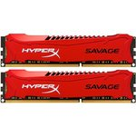 Kingston HyperX Savage DDR3 8GB (2x4GB) 1600MHz CL9 HX316C9SRK2/8