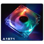 THERMALTAKE A1971 Thunderblade Multicolor / Větráček 80x80x25mm / 21dB (A1971)