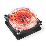 THERMALTAKE A2452 Cyclo Flash Fan - Red / Větráček 80x80x41mm / 19dB (A2452)