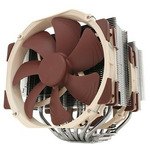 Noctua NH-D15 / 2x 140 mm / SSO2 Bearing / 24.6 dB @ 1500 RPM / 140.2 m3h / Intel + AMD (47161233153