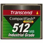 Transcend Compact Flash karta 512MB 200x / pro průmyslové využití (TS512MCF200I)