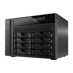 Asustor AS7008T / 8x HDD / Intel Core i3 DC @3.50GHz / 2GB RAM / HDMI 1.4a / 3x USB 3.0 / 2x USB 2.0 / 2x GLAN (UAS7008T)