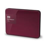 WD My Passport Ultra 2TB + POUZDRO / HDD / 2.5 / NTFS / USB 3.0 / Divoká červená / 3y (WDBBKD0020BBY-EESN)