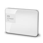 WD My Passport Ultra 2TB + POUZDRO / HDD / 2.5 / NTFS / USB 3.0 / Zářivá bílá / 3y (WDBBKD0020BWT-EESN)
